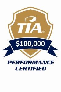 performance logo 100000