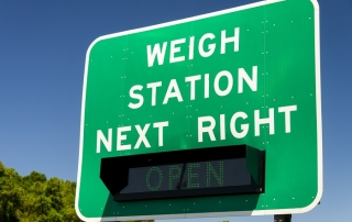 weigh station
