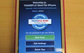 Transflo Now on Iphone
