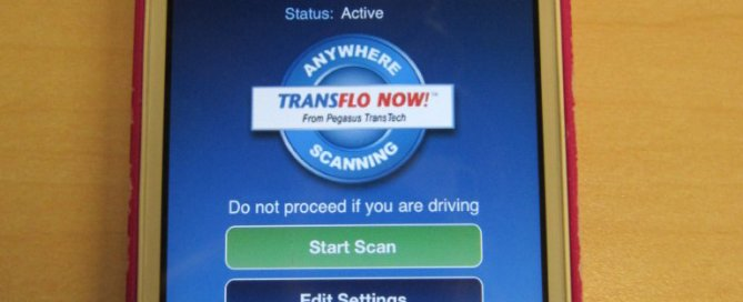 Transflo Now on Iphone