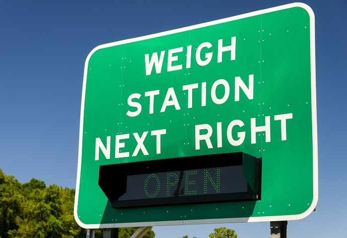 weigh station for weight loss